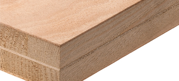 Double-core Ceiba blockboard