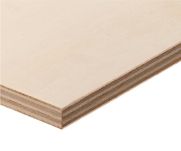 Fire retardant poplar plywood