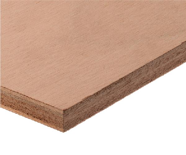 Unidirectional-grain Okoume plywood