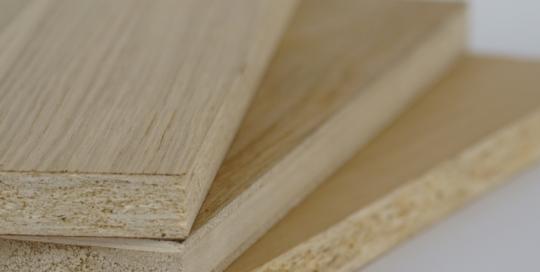 Pannelli Placcati in vero legno